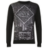 Hack Men's Calver City Sweatshirt - Black: Image 1