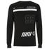 Hack Men's Vale Crew Neck Sweatshirt - Black: Image 1
