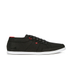 Boxfresh Men's Sparko Ripstop Low Top Trainers - Black/Chilli Red: Image 1
