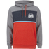 Animal Men's Culver Colour Block Hoody - Orange/Grey: Image 1