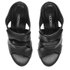 Senso Women's Xanthe I Leather Strappy Mule Sandals - Ebony: Image 2