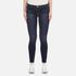 J Brand Women's 811 Mid Rise Skinny Jeans - Oblivion: Image 1