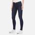 J Brand Women's 23110 Maria High Rise Blue Blend Skinny Jeans - Fix: Image 2