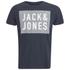 Jack & Jones Men's Rider T-Shirt - Navy Blazer: Image 1
