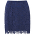 Sportmax Code Women's Corea Mini Skirt - Navy: Image 1