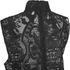 Ganni Women's Lace High Neck Blouse - Black: Image 4