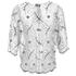 Ganni Women's Lace Blouse - Vanilla Ice: Image 2