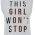 MINKPINK Women's Girl on Top Tank Top - Grey: Image 3