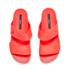 Melissa Women's Cosmic 15 Double Strap Slide Sandals - Coral: Image 2