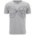 Crosshatch Men's Pegasus Print T-Shirt - Grey Marl: Image 1