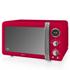 Swan SM22030RN Digital Microwave - Red - 800W: Image 1