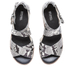 MICHAEL MICHAEL KORS Women's Darby Embossed Printed Snake Espadrille Flatform Sandals - Natural: Image 2