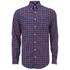 GANT Men's Tiebreak Twill Check Shirt - Mahogany Red: Image 1