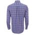 GANT Men's Matchpoint Poplin Check Shirt - Hurricane Blue: Image 2