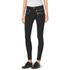 MICHAEL MICHAEL KORS Women's Rockr Zip Skinny Pant - Black/Silver: Image 2