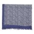 Diane von Furstenberg Women's Painterly Chainlink Print Scarf - Blue: Image 2