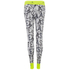 adidas Women's Stella Sport Gym Logo Tights - White: Image 4
