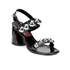 Marc by Marc Jacobs Women's Stevie Leather Block Heeled Sandals - Black: Image 2
