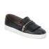 H Shoes by Hudson Women's Beata Tassle Leather Slip On Trainers - Black: Image 3
