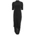 Selected Femme Women's Drape Dress - Black: Image 1
