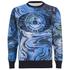 Vivienne Westwood MAN Men's Marble Print Sweater - Marble Blue: Image 1
