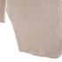 Lavish Alice Women's Rib Knitted Asymmetric Jumper - Oatmeal: Image 4