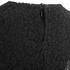 Lavish Alice Women's Lace Cape Mini Shift Dress - Black: Image 5