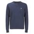 Polo Ralph Lauren Crew Neck Rib Sweatshirt - Winter French Navy: Image 1