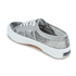 Superga Women's 2750 Animalnetw Classic Trainers - Snake Silver: Image 4