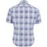 BOSS Green Men's Bicron Check Shirt - Medium Blue: Image 2
