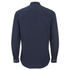 Universal Works Men's Poplin Stoke Shirt - Navy: Image 2