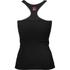 Better Bodies Women's N.Y Rib T-Back Tank Top - Black: Image 2