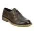 Belstaff Men's Westbourne Leather Derby Shoes - Black/Brown: Image 5