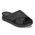 Ash Women's Secret Glitter Slide Sandals - Black/Black/Black: Image 3