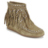 Ash Women's Spirit Suede Fringed Ankle Boots - Wilde: Image 4