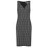 Diane von Furstenberg Women's Minetta Dress - Black/Ivory/Black: Image 1