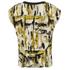 VILA Women's Viarty Short Sleeve Blouse - Amber Green: Image 2