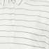 VILA Women's Very Short Sleeve Stripe Shirt - Snow White: Image 3