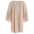 VILA Women's Alantata Long Sleeve Tunic Dress - Pink Sand: Image 2