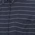 VILA Women's Very Short Sleeve Striped Shirt - Total Eclipse: Image 3