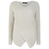 VILA Women's Match Wrap Jumper - Moonbeam: Image 1
