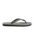 Polo Ralph Lauren Men's Whittlebury Flip Flops - Grey/ Black: Image 2