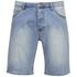 Cheap Monday Men's Line Denim Shorts - Atom Blue: Image 1