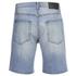 Cheap Monday Men's Line Denim Shorts - Atom Blue: Image 2