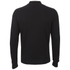 HUGO Men's Donso Baseball Collar Zip Top - Black: Image 2