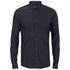 HUGO Men's Ero3 Long Sleeve Shirt - Dark Blue: Image 1