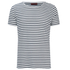 HUGO Men's Dhoenix Striped T-Shirt - White: Image 1