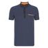 HUGO Men's Dexas Contrast Polo Shirt - Navy: Image 1