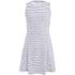 BOSS Orange Women's Dicoco Stripe Dress - White: Image 1