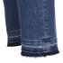 BOSS Orange Women's J10 Florida Frayed Cuff Jeans - Blue: Image 6